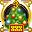 «Экстра секретная новогодняя медаль» - награда для того, кто трижды помогал наряжать новогоднюю ёлку в секретных разделах.